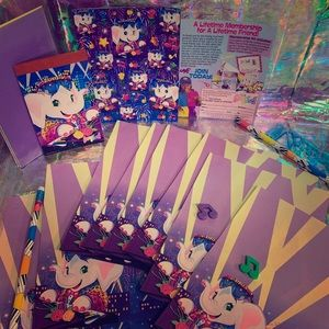 🤩 ELEPHANT JOHN full sheet of stickers/stationery